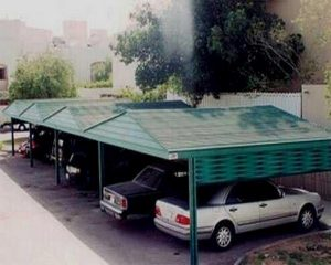 مظلات سيارات